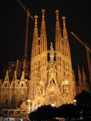 Sagrada Familia - 2006年時点のものです。